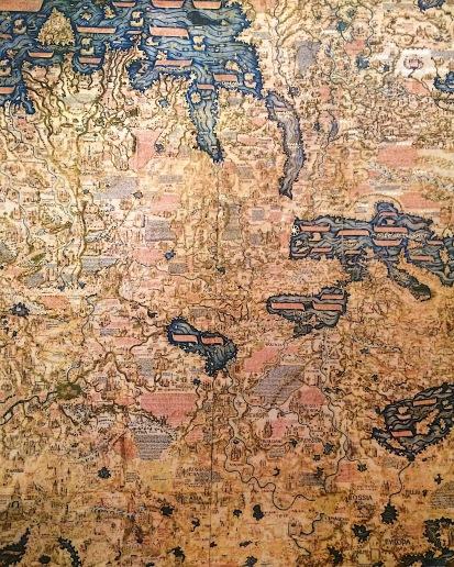 Mappemonde version Moyen-Age
