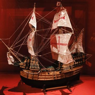Reproduction d'un navire portugais
